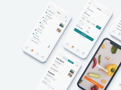 Pantree - Food Organization App