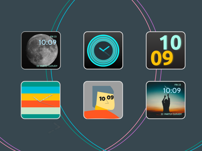Smart Watch Interfaces user interface design design minimal minim smartwatch applewatch smart watch uxping daily ui challenge smart