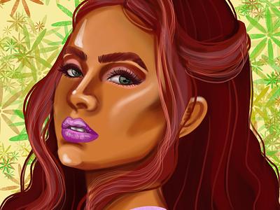 Layla Winx pretty girl digital art fan art winx club winx