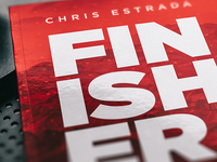 Finisher Book Cover Design