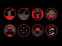 Ramen Knowledge Icons