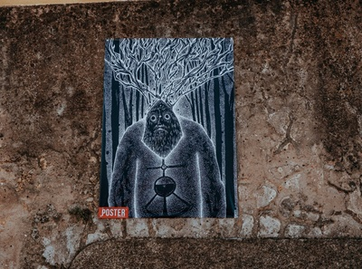 Dark Forest Xamã - POSTER MOSTRA
