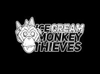 Ice Cream monkeys thieves - Logo