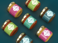 Bajia's Spice Paste Labels