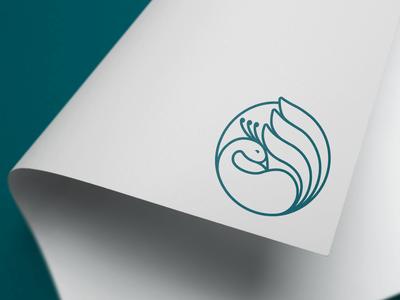 Bajia's Peacock Logo