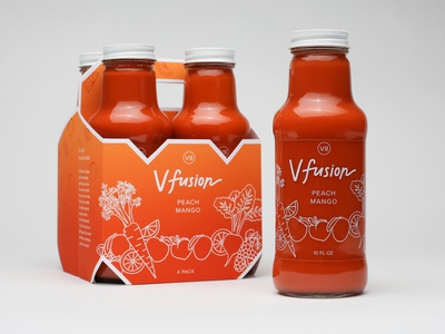 V8 V-fusion Packaging Concept