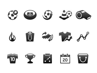 FIFA UX/UI Concept Icons