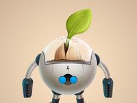 Robot seed big