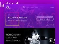 Musical website underconstruction