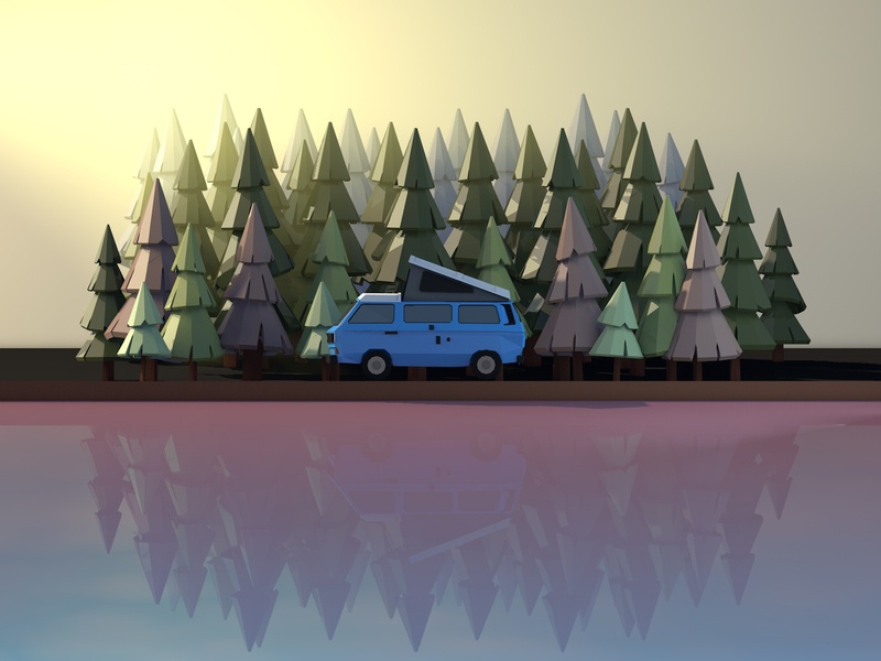 The Caravan and The Wood
