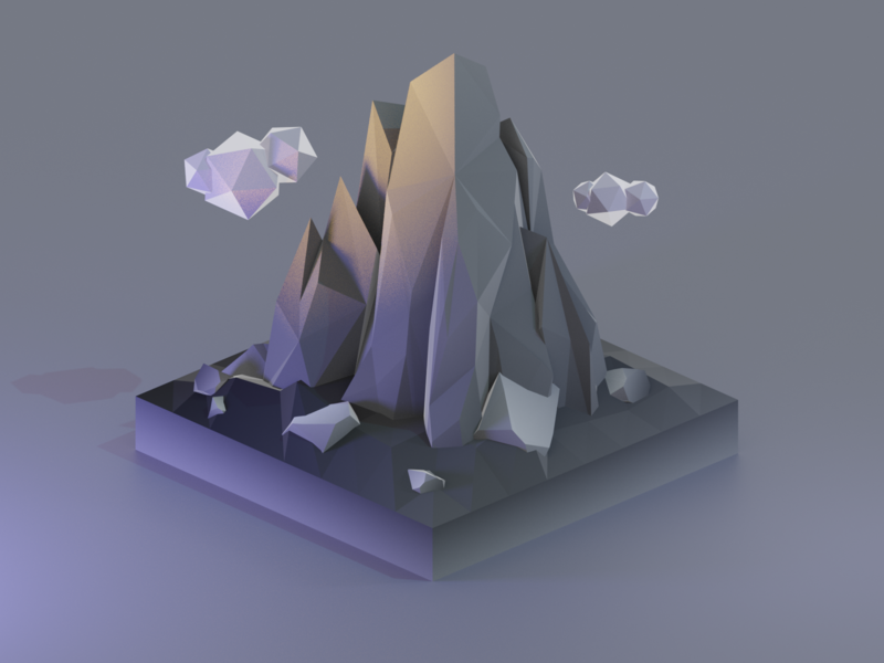 Mountain Low Poly