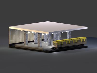 Moscow Metro. «Sokolniki» Station