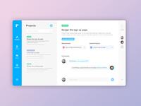 Projecto - Desktop Task Management App