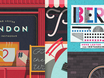 Herb Lester + Instagram City Guides