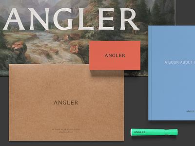 Angler Visual Identity branding visual identity brand identity