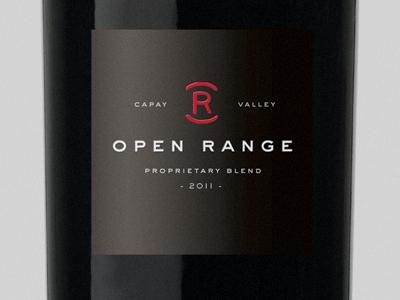 Open Range Blend packaging sackers wine stamp