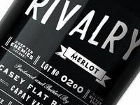 Rivalry Bottle