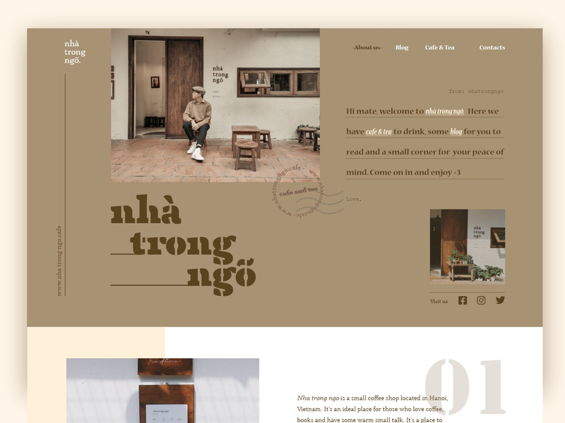 ''Nhà trong ngõ'' Landing Page