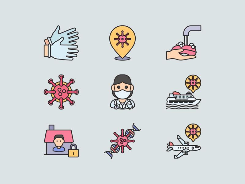 Free Icons Coronavirus