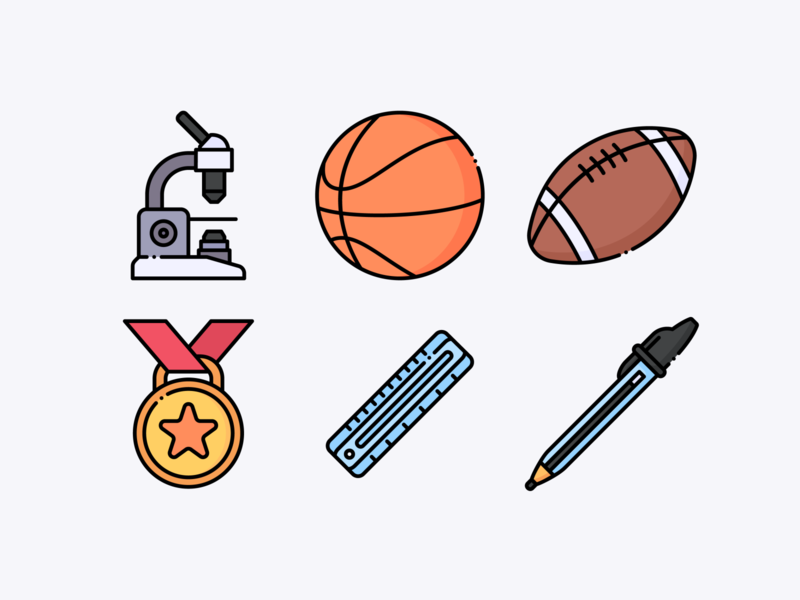 Back to School svg icons vector illustration icons design icon design iconography icons pack icons set icon set iconset icons icon sports sport education school backtoschool