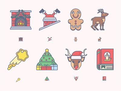 Christmas - Vector Icons svg icons png ai christmas icon illustration vector