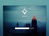 Travelator Landing Page