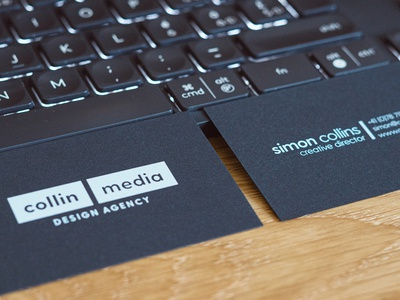 Business Card Fotoshoot