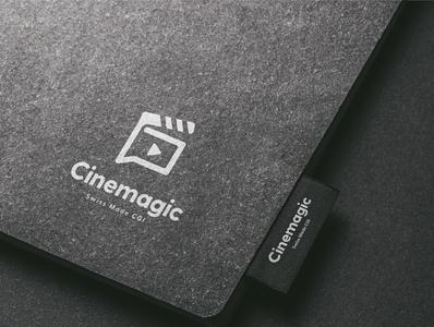 Cinemagic Startup Logo