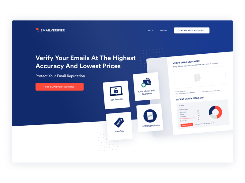 Saas Website Hero Design
