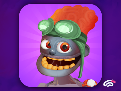 Crazy Frog game icon design character design game art fiverr.com fiverrgigs fiverr characterdesign cartoon character app ui game item game illustration game icon game icons game design game app