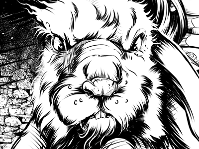 Alice issue3 page6 white rabbit gregbo