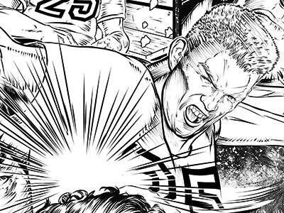The Smack! illustration comic pen and ink ink sequential art comic book zenescope grim holiday special