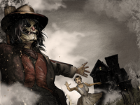 Scarecrow cover gregbo
