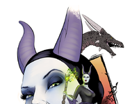 Maleficent dragon gregbo
