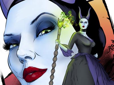 Maleficent by Gregbo Watson on Dribbble