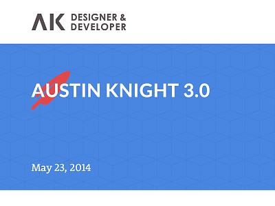 Austin Knight V3 website redesign ui blog