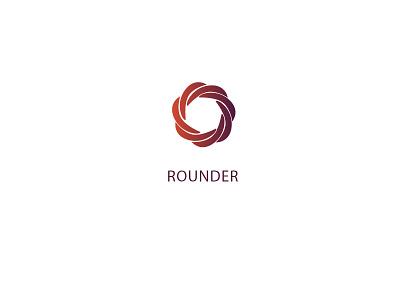 Rounder Logo round logo gradient