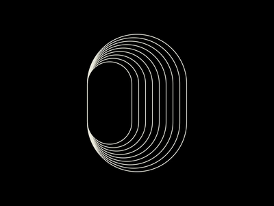 O.02 – NFT loop geometric kinetic animation motion gif animated typography nftart nfts nft