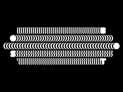 Adidas Boost - Abstract Loop kinetic calango animation motion branding logo typography gif animated