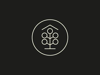 De Groene Buurvrouw vector typography graphic design design minimal botanical logo branding