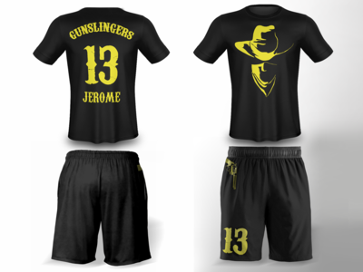 Gunslingers Ultimate Frisbee Jerseys
