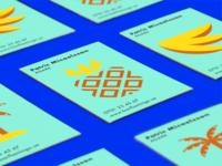 Business cards Bar Flamingo