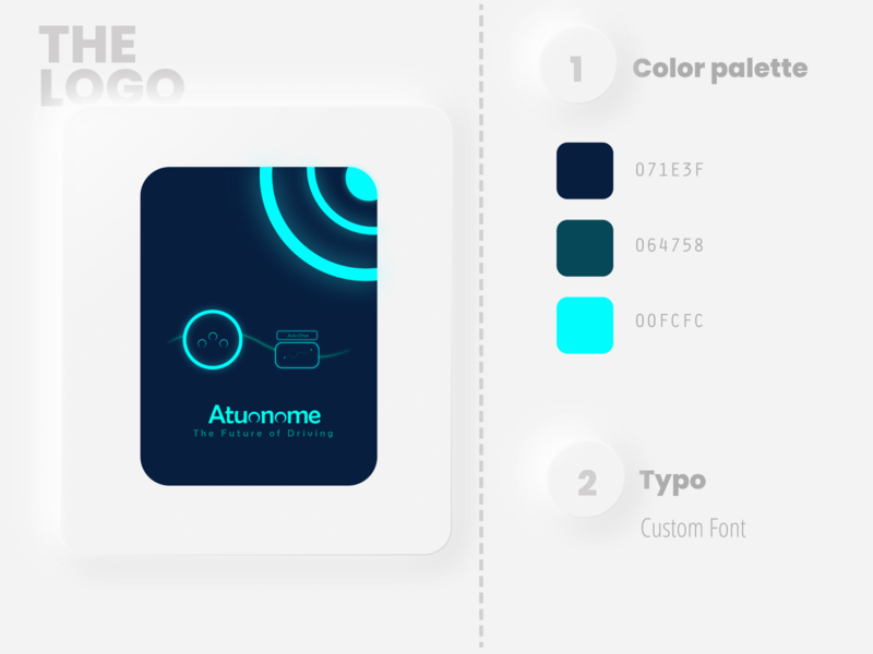 Autonome drive minimal flat illustrator typography art design logo vector illustration branding dailylogochallenge