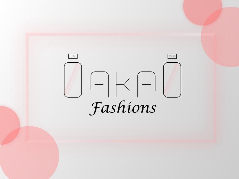 oakao fashions 02 logodesign logotype logos brand identity design brand identity brand design brand dailylogochallenge art minimal illustrator flat vector logo illustration design branding