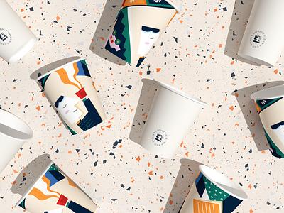 Napaholic Coffee coffe illustration coffee logo vietnam designer coffee illustration coffee shop coffee cup vietnam sharpen studio logodesign branding design branding