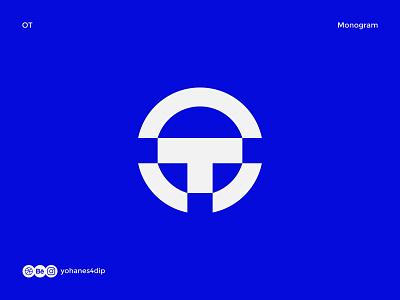 OT Monogram Logo logo identity logo folio logo for sale monogram logomark mark trademark wordmark lettermark logo monogram monogram simple logo logodesign flat logo design minimal design logo