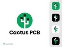 Cactus PCB Logo