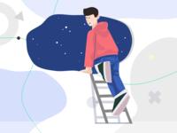 Self Space Illustration