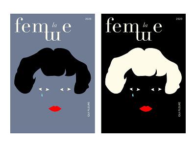 la femme qui pleure poster design vector art indesign poster vector illustration illustration adobe illustrator