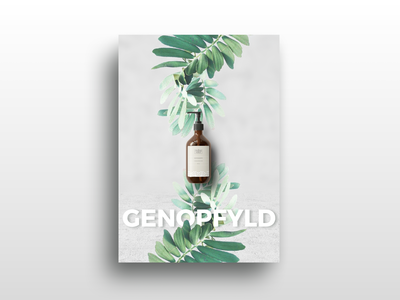 Poster design | Matas Natur typography flowers sustainable packaging packaging design packaging emballage organic sustainability sustainable green green solutions refill print material branding graphic design print design printet material print poster poster design